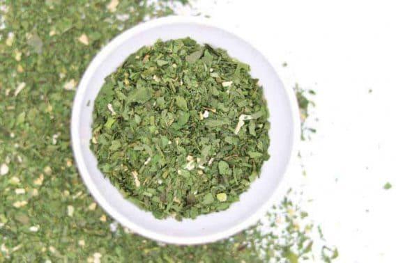 Bärlauch Pesto front